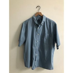 Basic Edition light Blue minimalist button down